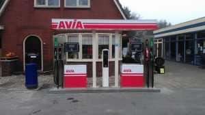 AVIA-Tankstation